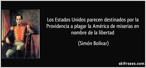 imagenes sobre la vida de simon bolivar frases de simon bolivar taringa