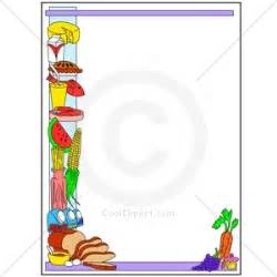 Healthy food borders and frames clipart food borders frames