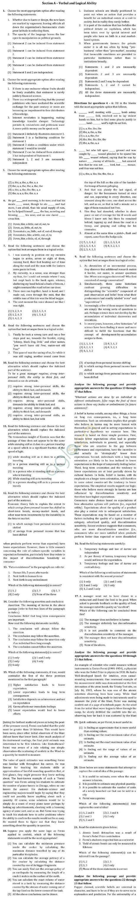 xat question pattern 2016 xat 2013 question paper with solutions aglasem admission