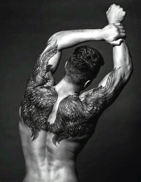 tattoo wings back guys top 100 best wing tattoos for men designs that elevate