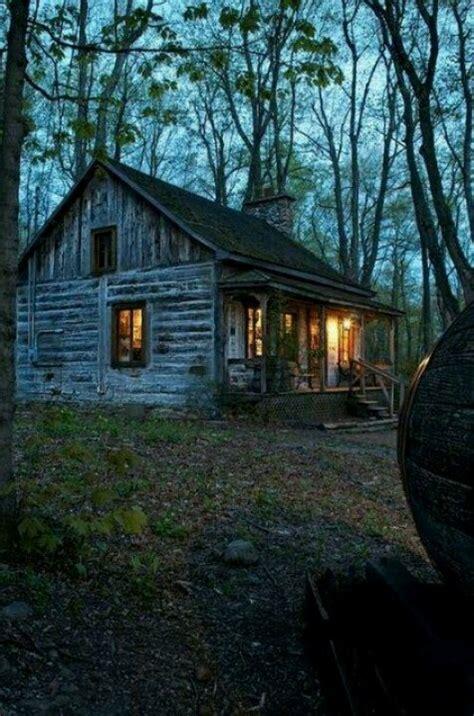 cabin in the woods cozy