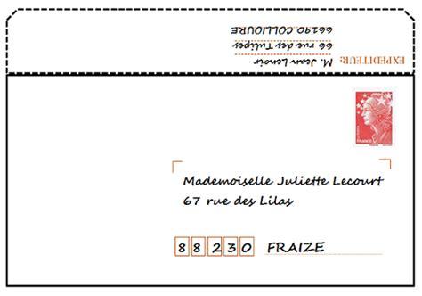 Présentation Lettre Enveloppe Exemple Lettre Enveloppe