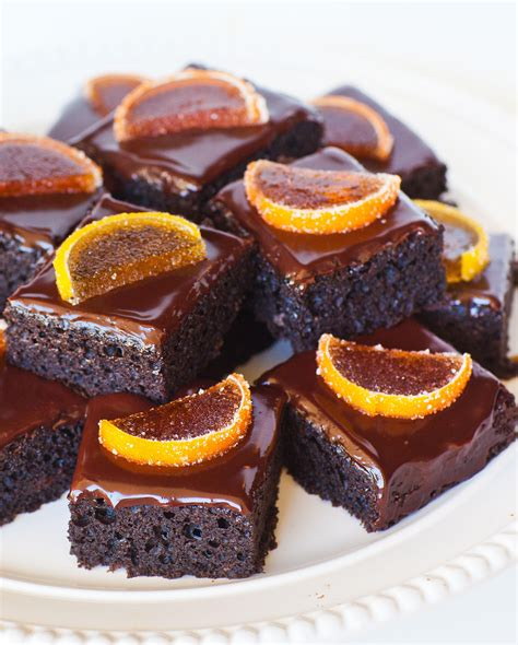chocolate orange chocolate orange cake bars tatyanas everyday food