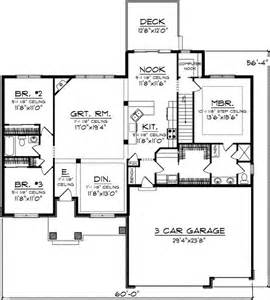1800 Sq Ft Floor Plans by One Level Living