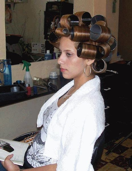 roller setting boys hair 322 best images about salons curlers on pinterest