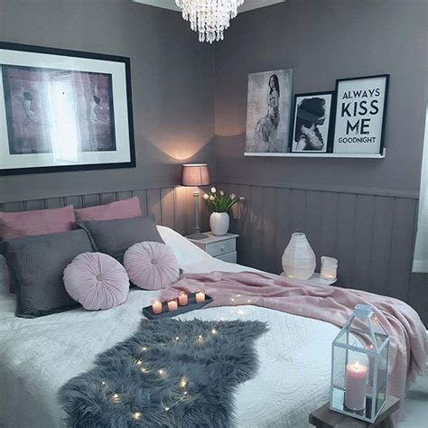 gray themed bedrooms cozy gn via fashionzine by kristingronas for
