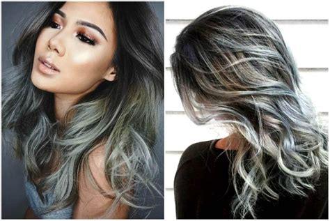 Rambut Sambungan Warna ini tren warna rambut terbaru yang populer di instagram