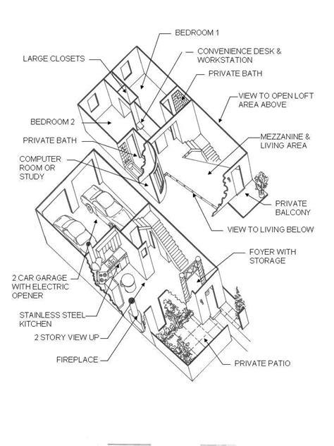 exploded floor plan floor plan