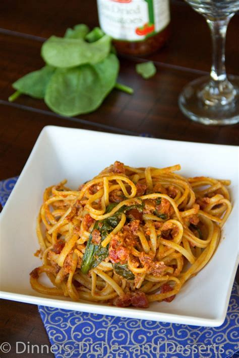 pasta dishes for dinner sun dried tomato pasta