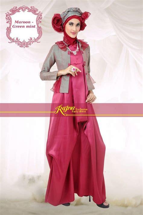 Gaun Pesta Ceruty Nadiah Dan Pashmina 1000 images about longdress gaun pesta muslim on blazers brown and dresses