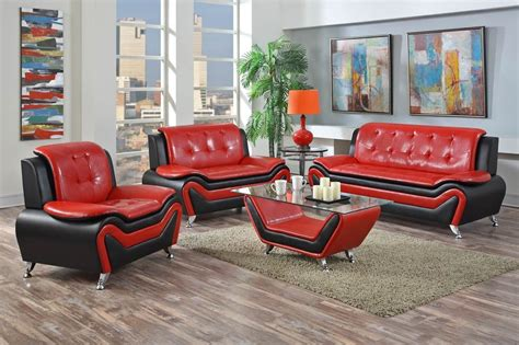 black and red living room furniture red and black furniture for living room roselawnlutheran