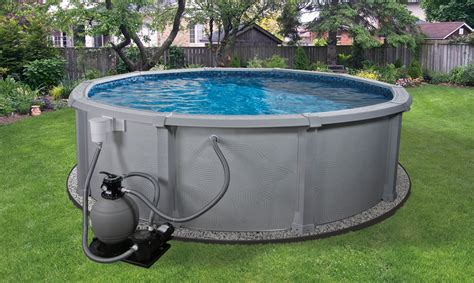 Backyard Pools Above Ground Above Ground Pool Installation Diy