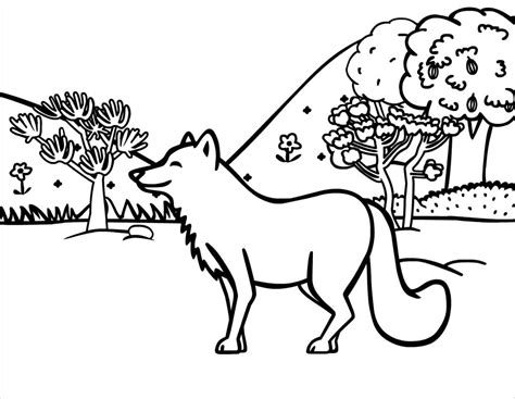 Free Printable Fox Coloring Pages For Kids Free Outline Pictures For Coloring