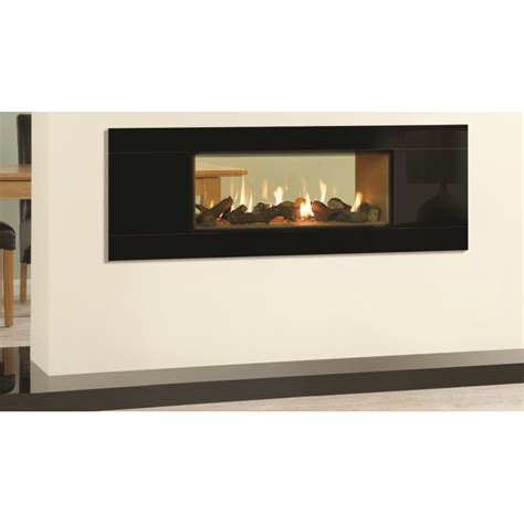 Dual Sided Gas Fireplace by Slice Gas Sided Balanced Flue