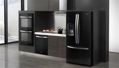 dark grey stainless appliances