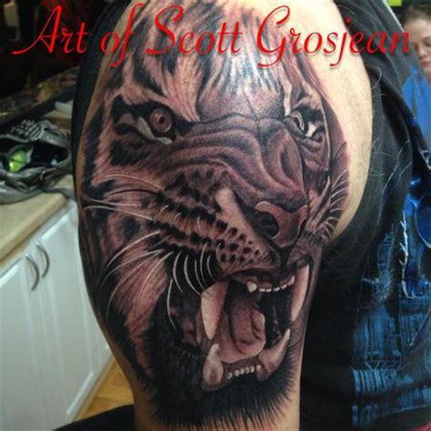 art junkies tattoo studio : tattoos : scott grosjean