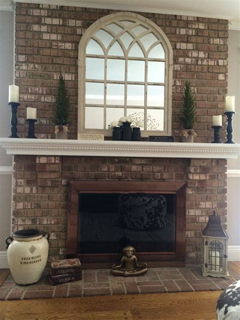 Mirror Fireplace by Best 25 Mirror Above Fireplace Ideas On