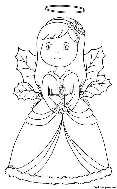 preschool coloring pages angels christmas angel coloring pages homepage 187 christmas