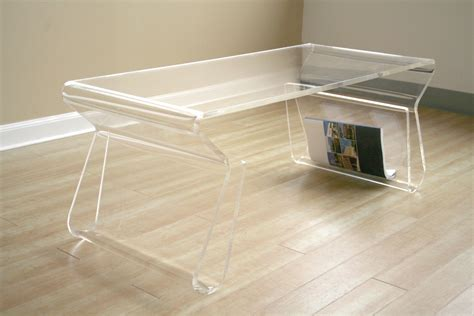 Clear Coffee Table Furniture Gt Living Room Furniture Gt Coffee Table Gt Clear Acrylic Coffee Table