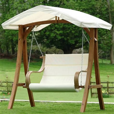 outdoor wood swings metal outdoor swings for adults backyard swings for adults