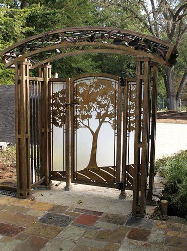 blacksmith elegant lakeside trees art panels by blacksmith 17 best images about garden gates on pinterest gardens
