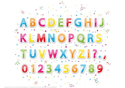 printable alphabet stickers printable stickers of english alphabet letters and numbers