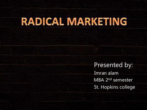 Jhu Ptt Mba by Radical Marketing