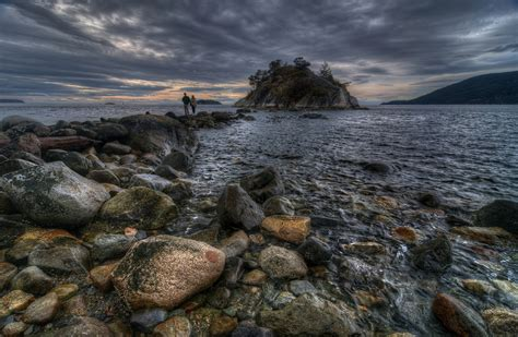 west marine bc whytecliff marine park west vancouver hdr photo hdr creme
