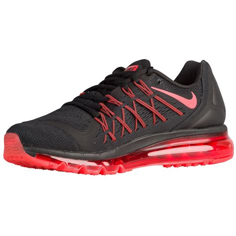 shop mens nike air max  running shoes black