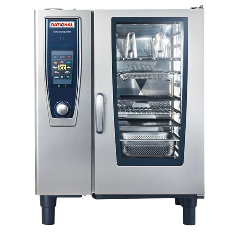 Oven Rational rational selfcookingcenter 5 senses model 101 b118106 43 single electric combi oven 480v 3