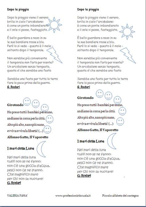filastrocche a rima baciata didattica poesie e rime professionisti scuola