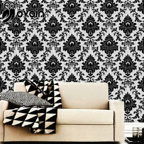 Wallpaper European Fashion Beautiful White Peony Wa wallpaper designs for bedrooms black and white www imgkid the image kid has it