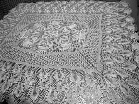 Knitted Tablecloth Patterns