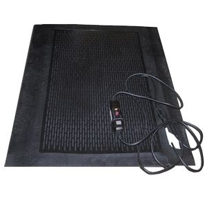 heated entrance floor mats and snow melting mats are