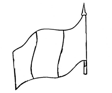 flag of peru colouring pages