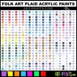 folk colors folk plaid acrylic paint colors folk plaid paint