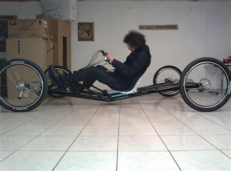 porsche bicycle car pin homemade quadricycle on pinterest