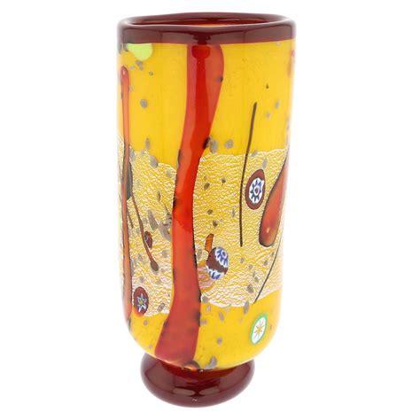 murano glass vase murano glass vases modern murano glass vase yellow