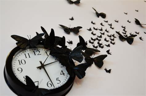 Time Sure Flies With These Clocks by Mr Kate Diy Time Flies Butterfly Clock