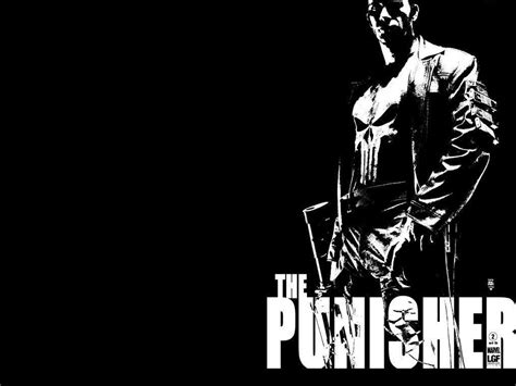 black and white comic wallpaper the punisher wallpapers wallpaper cave