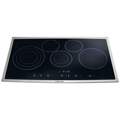 36 Cooktop Electric - ei36ec45ks electrolux 36 electric cooktop stainless