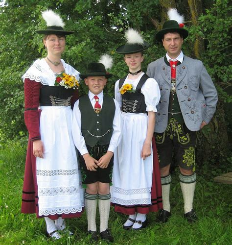 austrian folk costumes overview of the folk costumes of