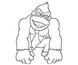 printable coloring pages gt donkey kong gt 44261 donkey kong coloring pages 1
