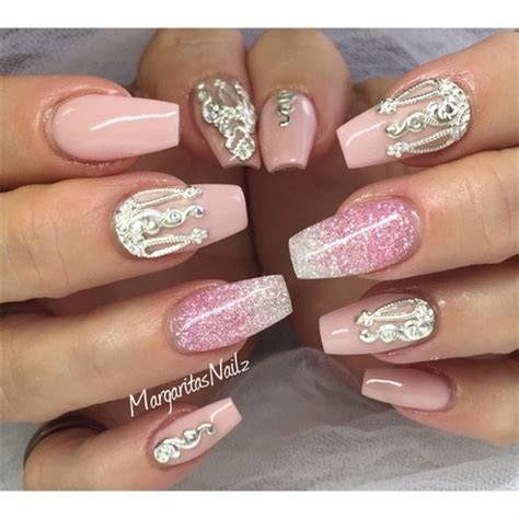 Glitzernde Nägel by Coffin Nails Nail Jewelry Nail Gallery