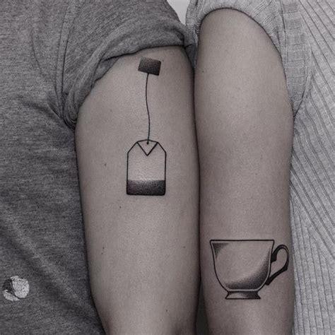 couple line tattoo minimalist tattoo series by mo ganji shows depth of line