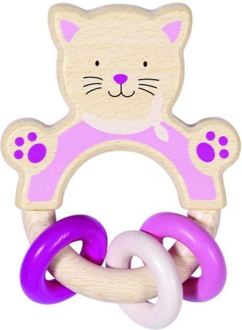buitenspeelgoed katten bol heimess bijtring kat h11cm hout speelgoed