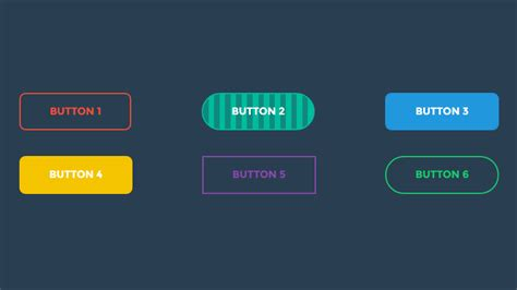 javascript tutorial hover navigation bar 165 css buttons