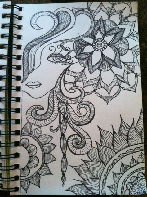 doodle glam drawing 265 best images about notan zentangles and doodle designs