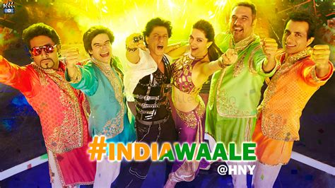 new year india india waale song lyrics from happy new year