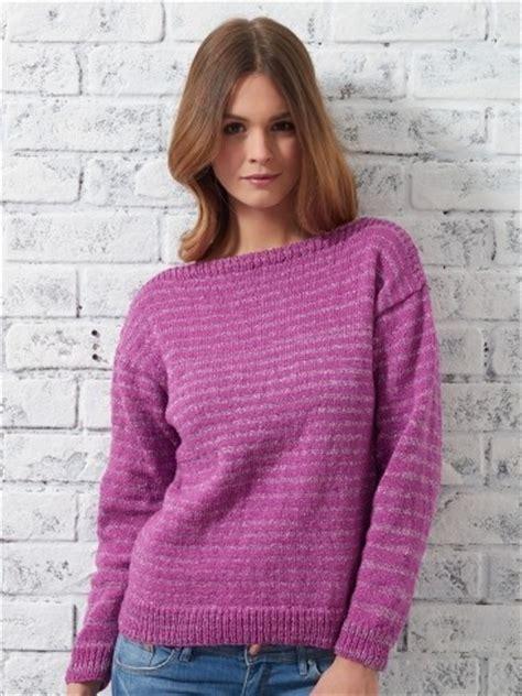 simple sweater knitting pattern bateau sweater allfreeknitting